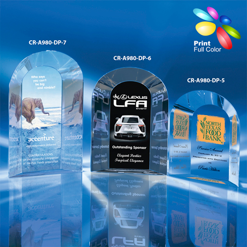 CR-A980-DP-7 - Double Arch in Digital Print
