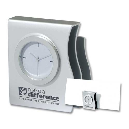 DA-4080MS - Desk Clock & Organizer