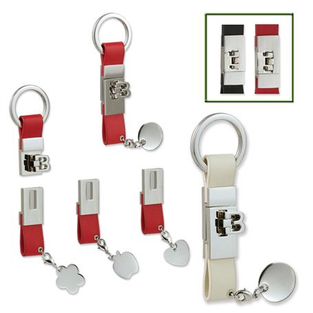 LK-210S - Custom Letter Leather Key Holder