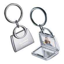Purse Shape Photo Key Holder
