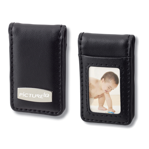 BM-80BK - Leather Money Clip