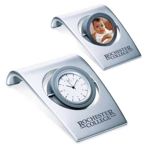 DA-4280MS - Desk Clock with Photo Frame