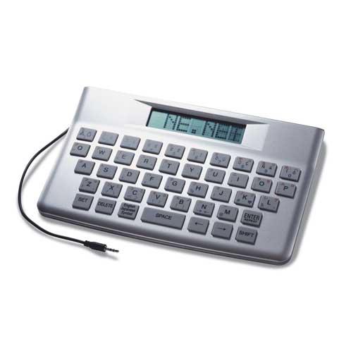 DA-4370S - Message Clock Keyboard