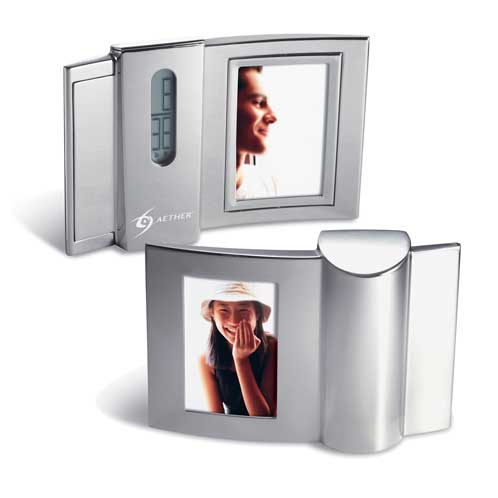DA-4390S - Digital Desk Clock with Photo Frame