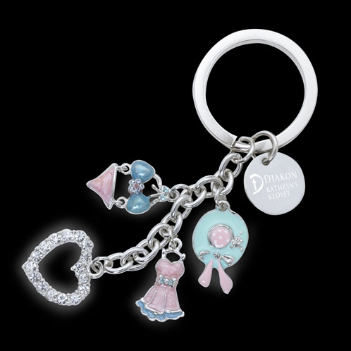 K-300S-B - Charms Key Holder