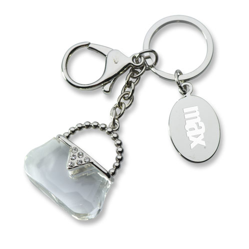 K-340S - Crystal Purse Key Holder