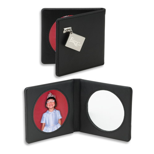 TR-120S-BK - Wallet Mirror/Photo Frame