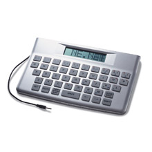 Message Clock Keyboard