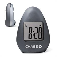 Desk Clock & Paper Holder