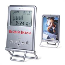 Digital Desk Clock with Photo Frame