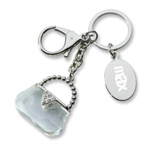 Crystal Purse Key Holder