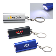 LED Flashlight Key Holder